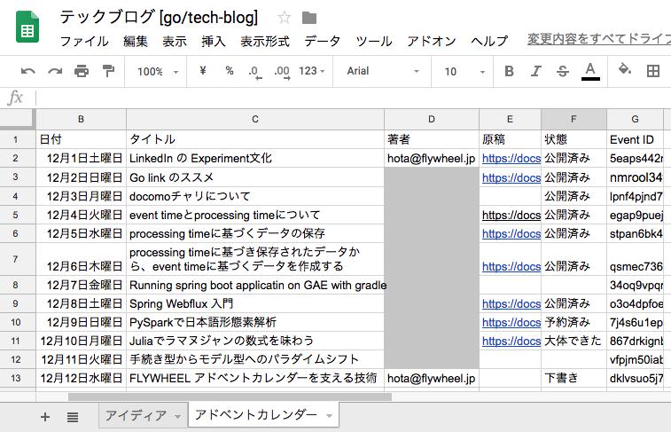 FLYWHEEL アドベントカレンダーを支える技術